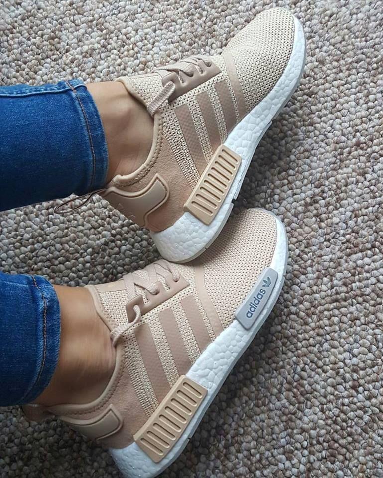 adidas donna nmd r1 beige