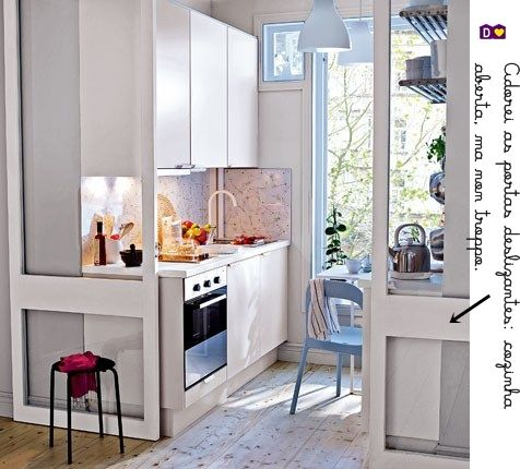 blog de decora o casa e organiza o pinterest mini kitchen kitchens and. Black Bedroom Furniture Sets. Home Design Ideas