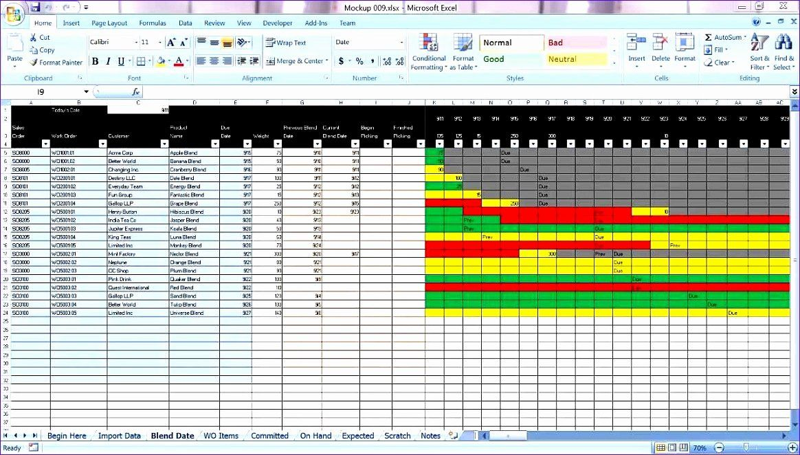 30 Production Planning Excel Template in 2020 (With images