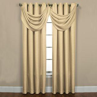 Sutton Grommet Ivory Curtain Panel Pair