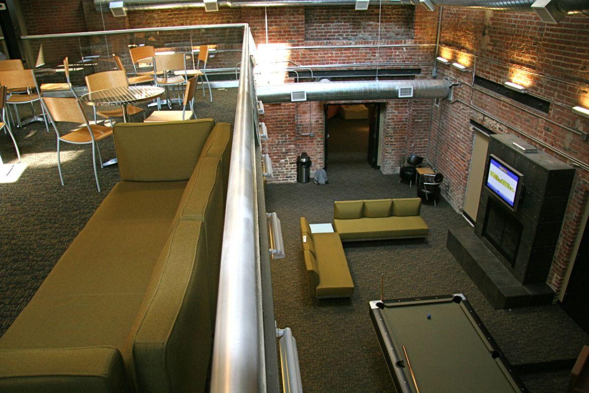 Resident indoor mezzanine american tobacco center pinterest