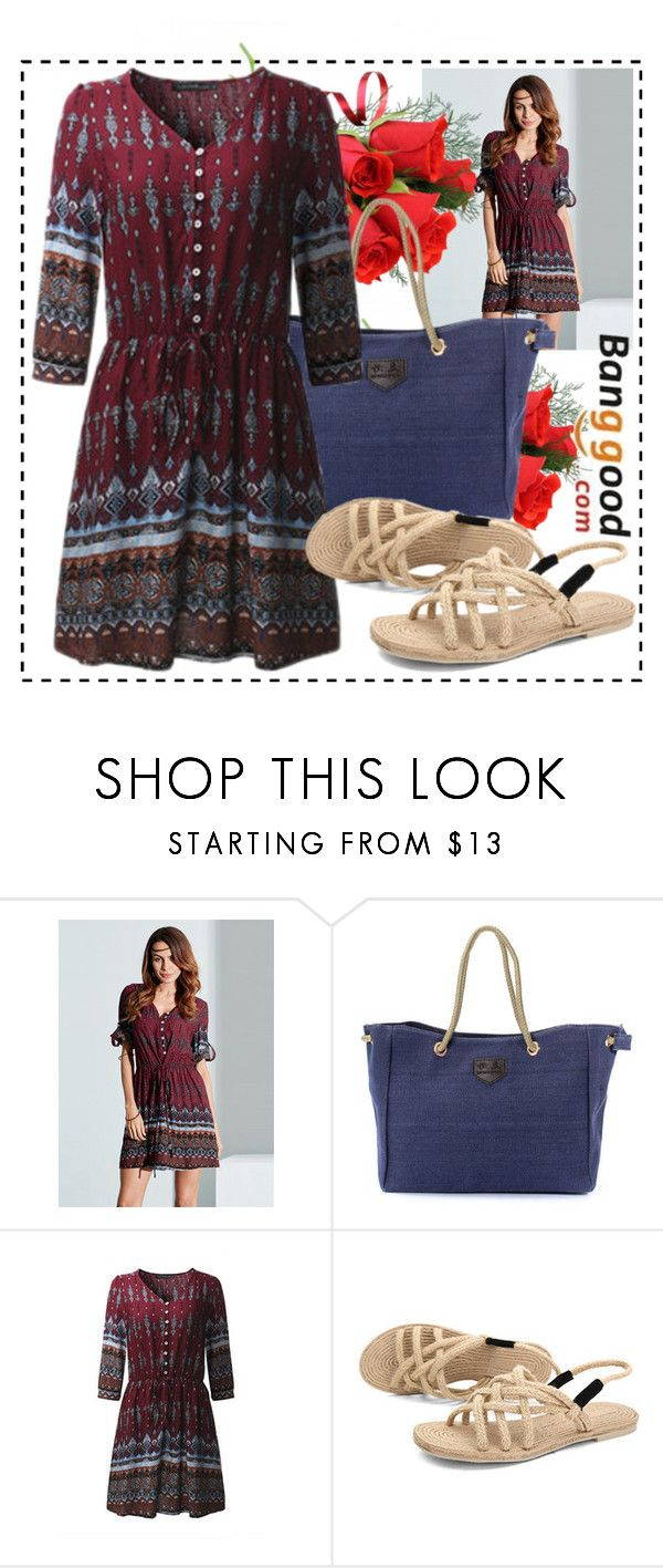 """""""Spring look with Banggood"""" by danijela-3 ❤ liked on Polyvore"""