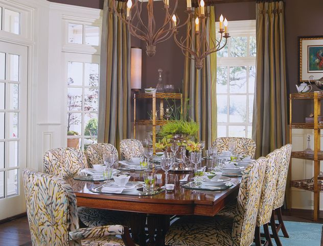 Dining area · interior design work portfolio charleston