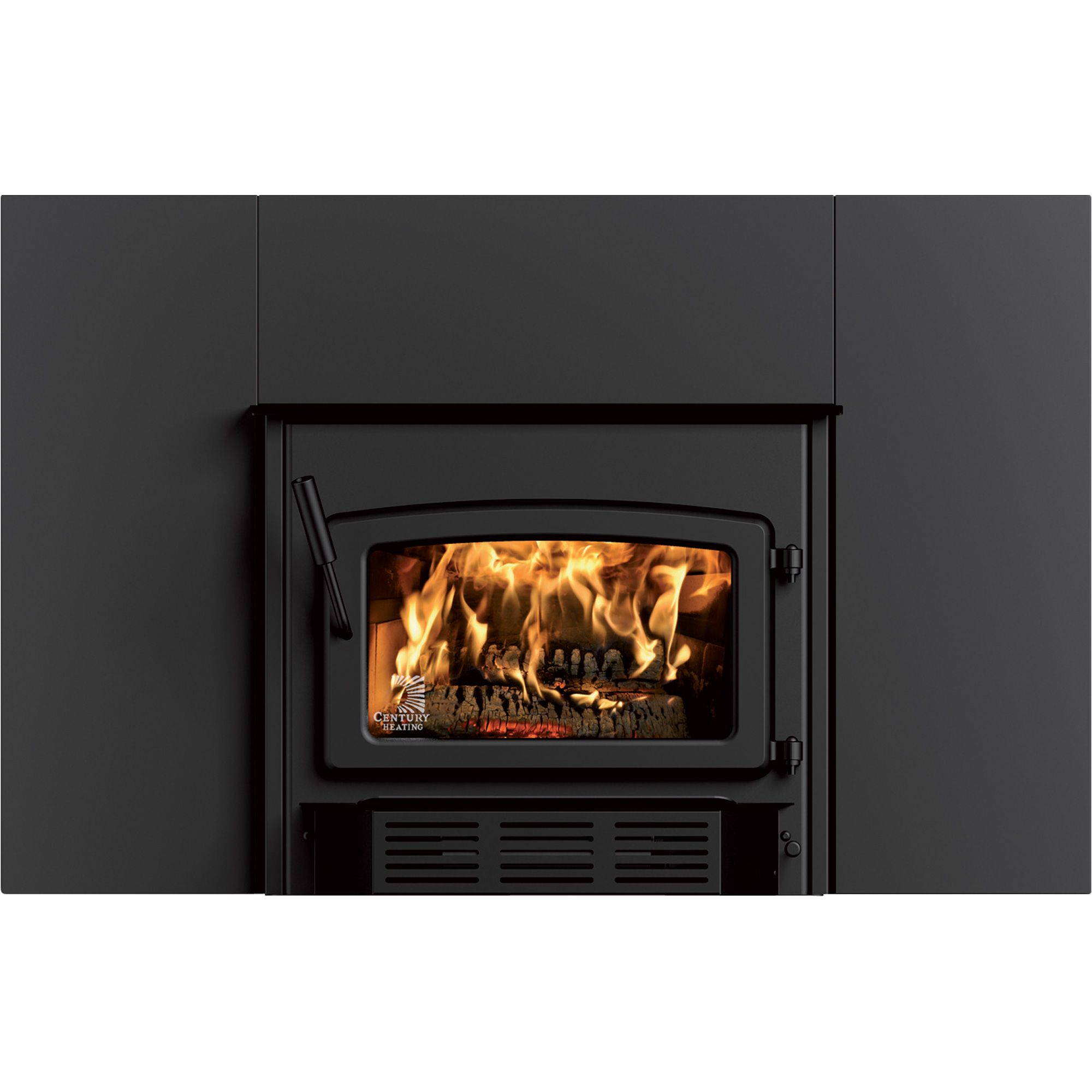 high efficiency wood burning fireplace. Stove Builder International Century High Efficiency Wood Insert: The Is A Efficiency, EPA Certified Insert. With Its Standard Blower And Large Burning Fireplace F