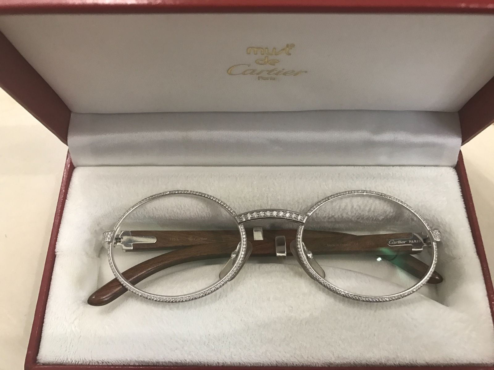 8916d7ac2b Diamond Cartier Glasses