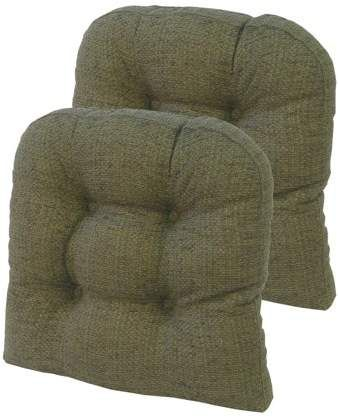 The Gripper Non Slip 15 X Taylor Universal Chair Cushions Set Of 2