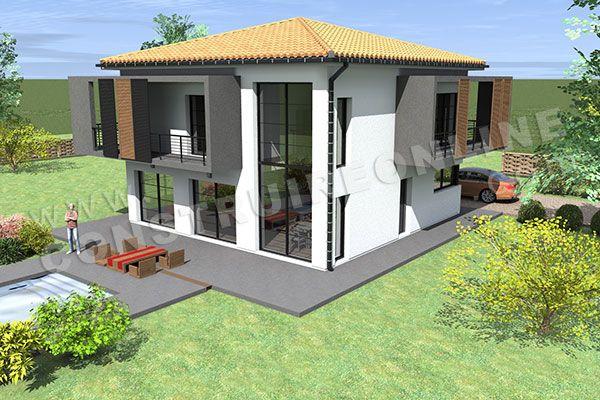 maison moderne etage (2) | maison aimé | Pinterest