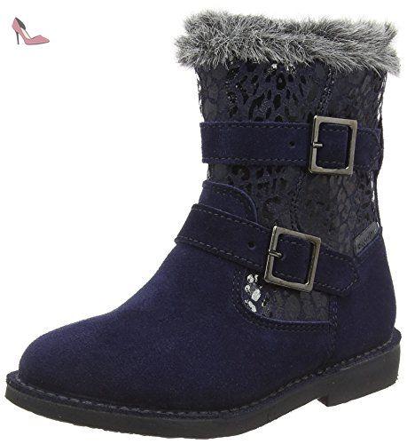 Ricosta Zoe, Bottes fille - Bleu (Nautic 172), 26 EU - Chaussures