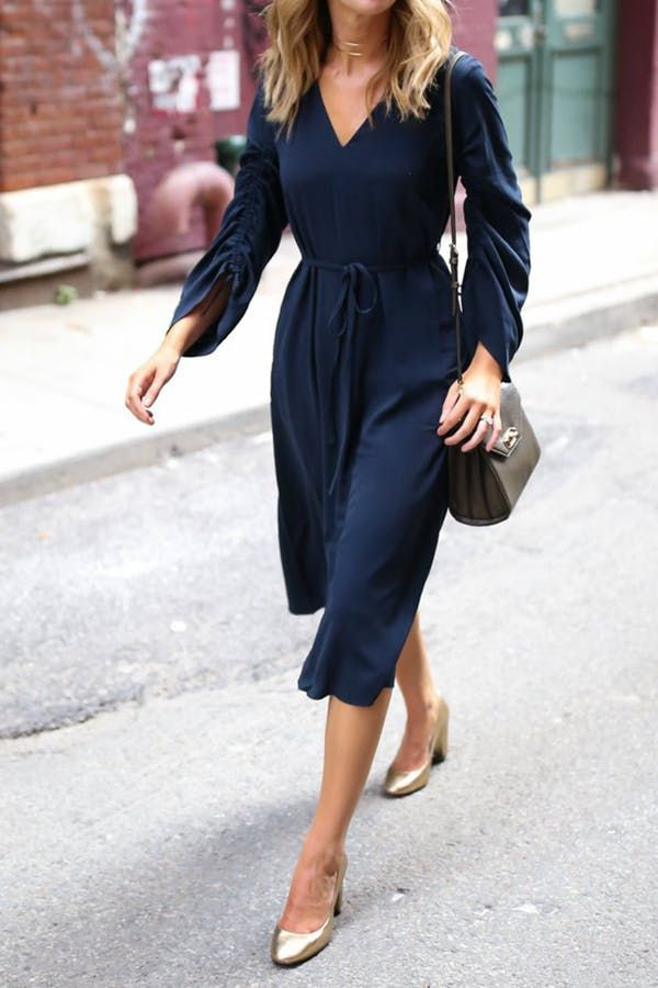 Toni dress  298 7 Flattering Fall Outfits for Every Body Type via  PureWow 31c47f1a6