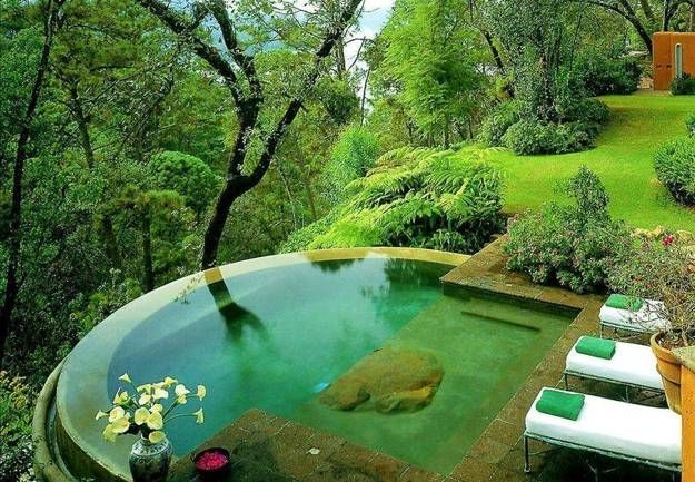 20 Unique Outdoor Swimming Pool Design Ideas Inspiring Water Features Small Pool Design Dream Pools Pool Designs