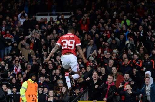 Europa League Last 16 Draw Manchester United Liverpool Vs Manchester United Marcus Rashford