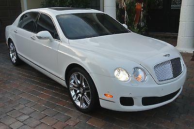 2010 Bentley Continental Flying Spur 2010 Bentley Continental Flying Spur Sedan 4 Door 6 0l Bentley Continental Bentley Sedan