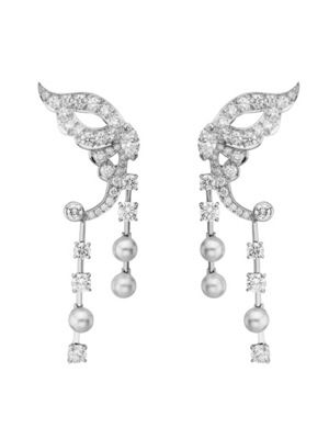 Van Cleef  Arpels -  Misis Butterfly earrings, Papillons collection, 2010