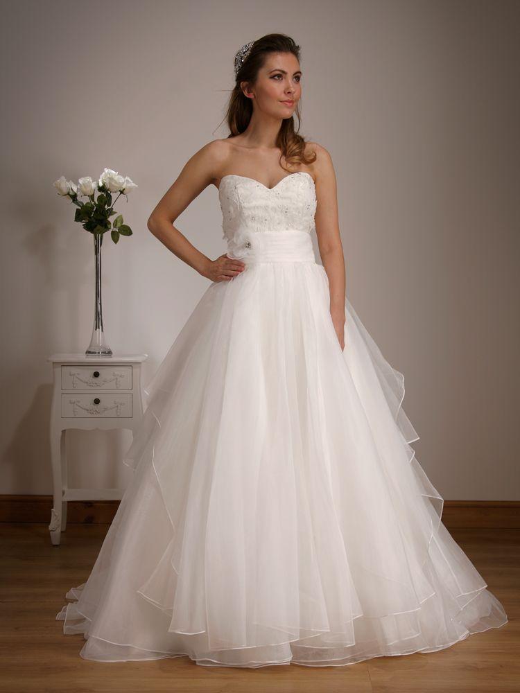 Gorgeous Organza Princess Dress By Catherine Parry Wedding DressBridal