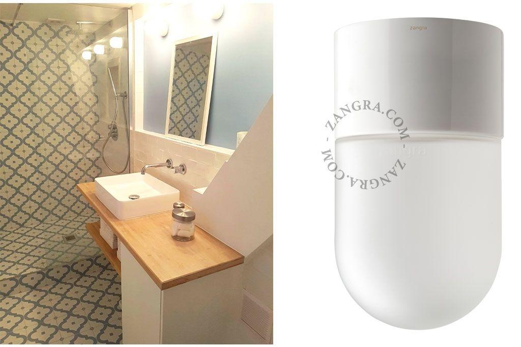 Waterproof White Porcelain Lamp By Zangra Met Afbeeldingen Wit