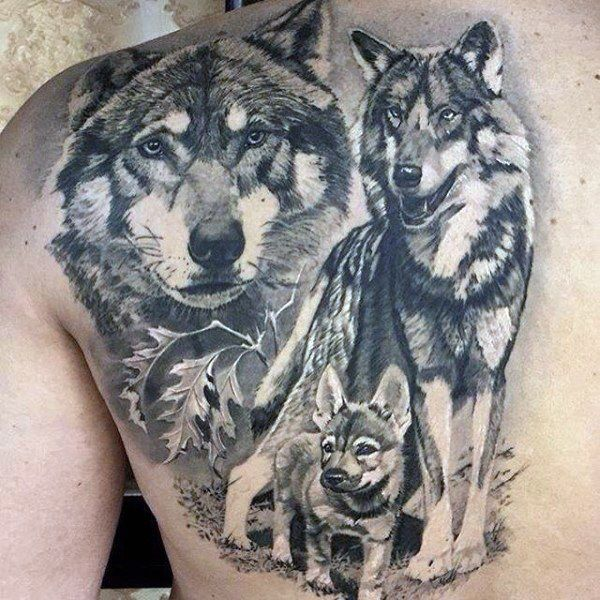 Wolf Tattoo Meaning Wolf Tattoo Designs Animal Tattoos Animal Tattoos For Men Tattoos For Guys