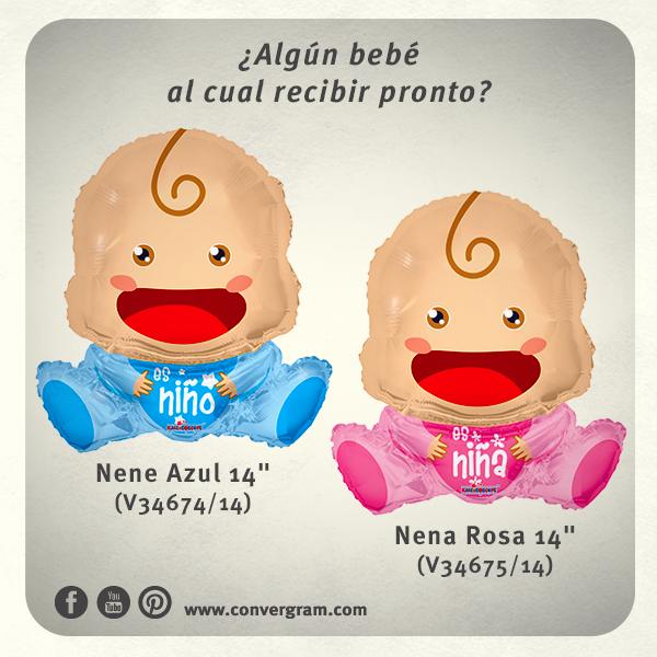 #Babyshower #Bienvenido #bebé #globos