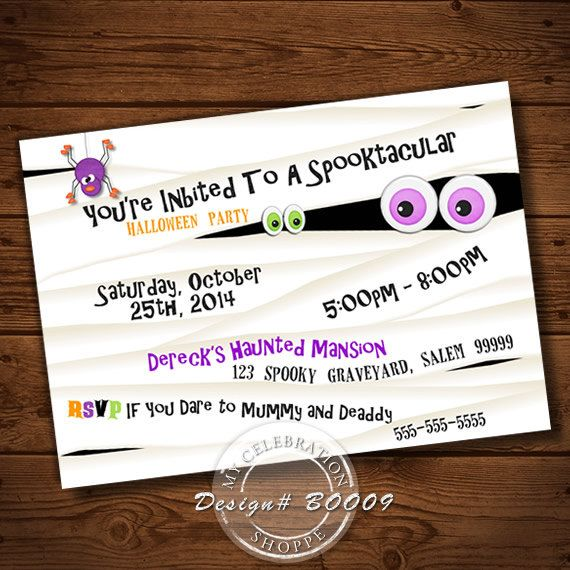 Come take a sneak peak at our mummy halloween party invitations come take a sneak peak at our mummy halloween party invitations perfect for costume parties filmwisefo