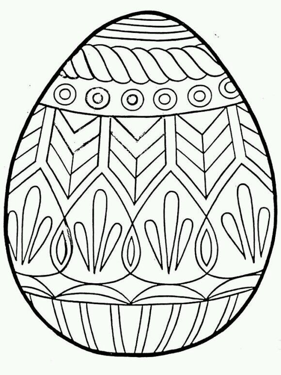 Pin By Barbora Rihova On Coloring Egg Coloring Page Easter Coloring Pages Easter Egg Coloring Pages
