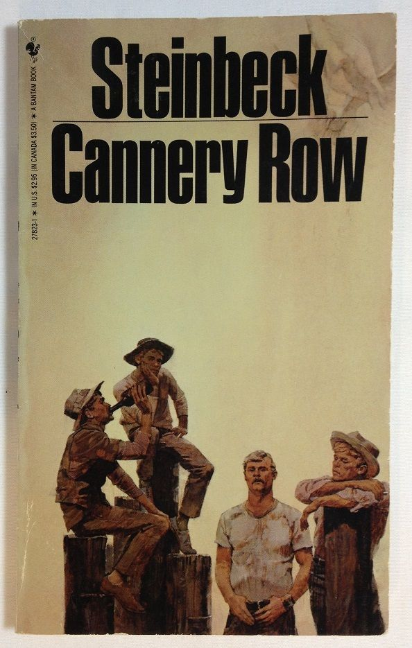 Cannery Row by John Steinbeck (1982, Paperback)