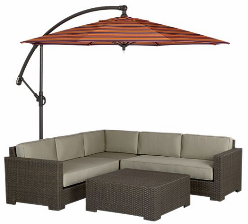 The Ventura Free Standing Patio Umbrella Outdoor
