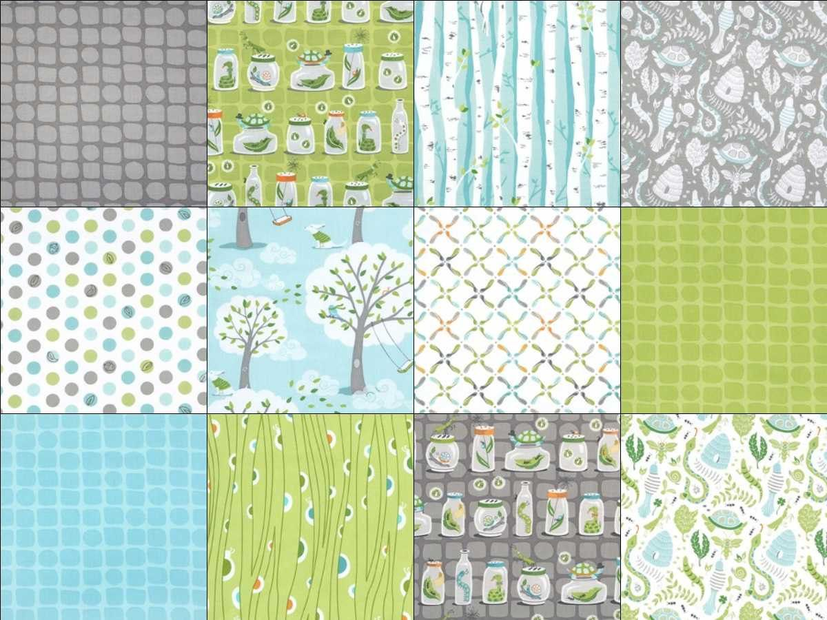 Charmant The Backyard Baby Fat Quarter Bundle Includes 12 Fat Quarters (approx. X By  Patty Sloniger For Michael Miller Fabrics.