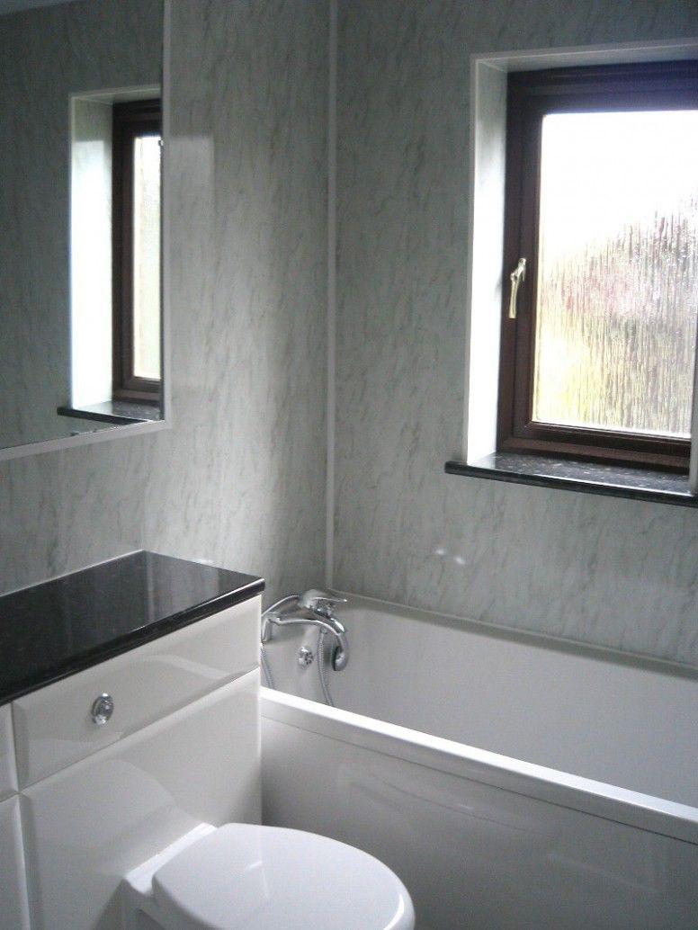 Bathroom Wall Panels Around Window Bathroom wall coverings ideas