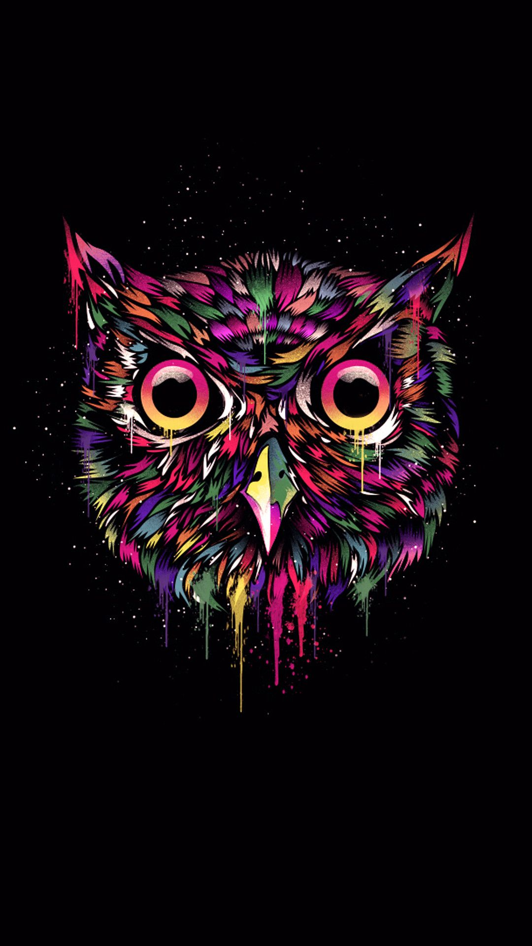 76 Owl Iphone Wallpapers On Wallpaperplay Owl Wallpaper Cute Owls Wallpaper Owl Wallpaper Iphone