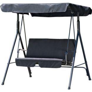 buy 2 seater garden swing chair   black at argos co uk   your buy 2 seater garden swing chair   black at argos co uk   your      rh   pinterest
