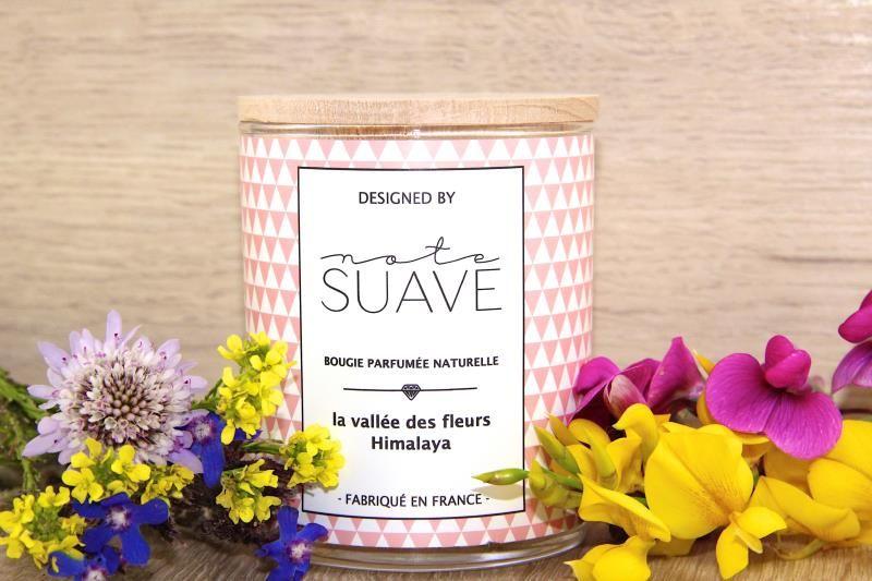 Bougie cire de soja parfumée Himalaya Tendances Du Monde