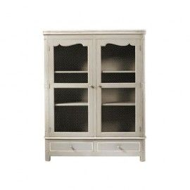 Armoire Grise Beaumanoir With Images Tall Cabinet Storage