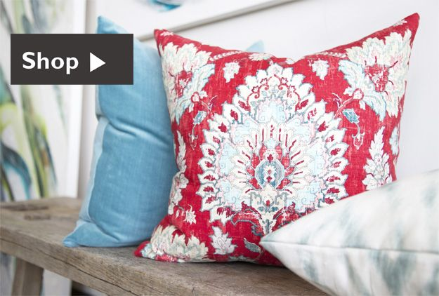 Designer fabric, throw pillows, fabric swatches | Tonic living