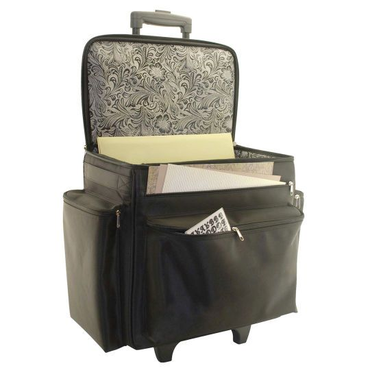 Recollections Kimberly Rolling Craft Storage Tote   Youu0027ll Be Ready To Go  In An Instant With This Large, Rolling Tote Bag.
