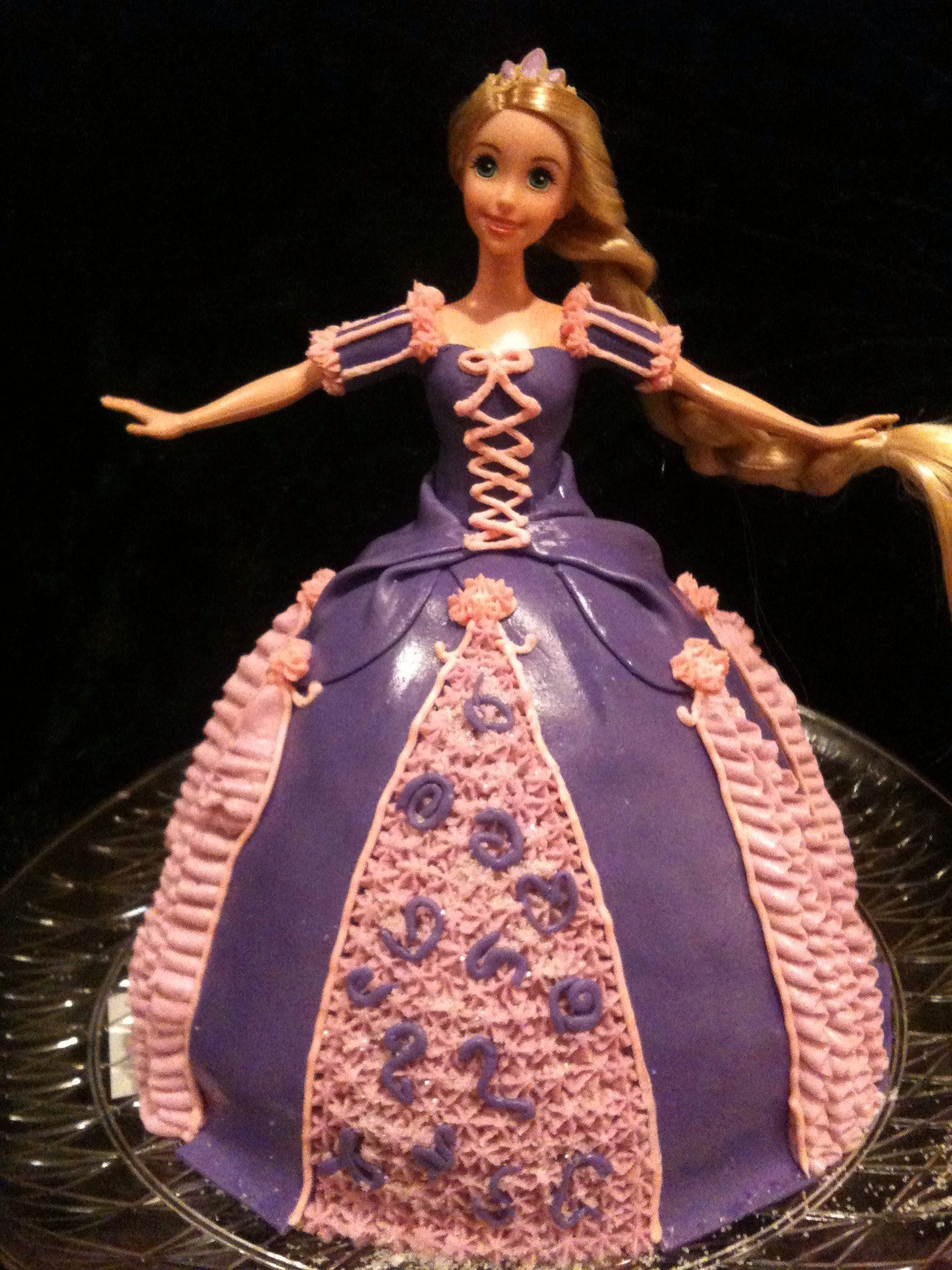 My first shot at a doll cake
