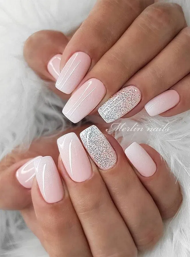 140 trendy stunning manicure ideas for short acrylic nails design -page 39 > Hom…