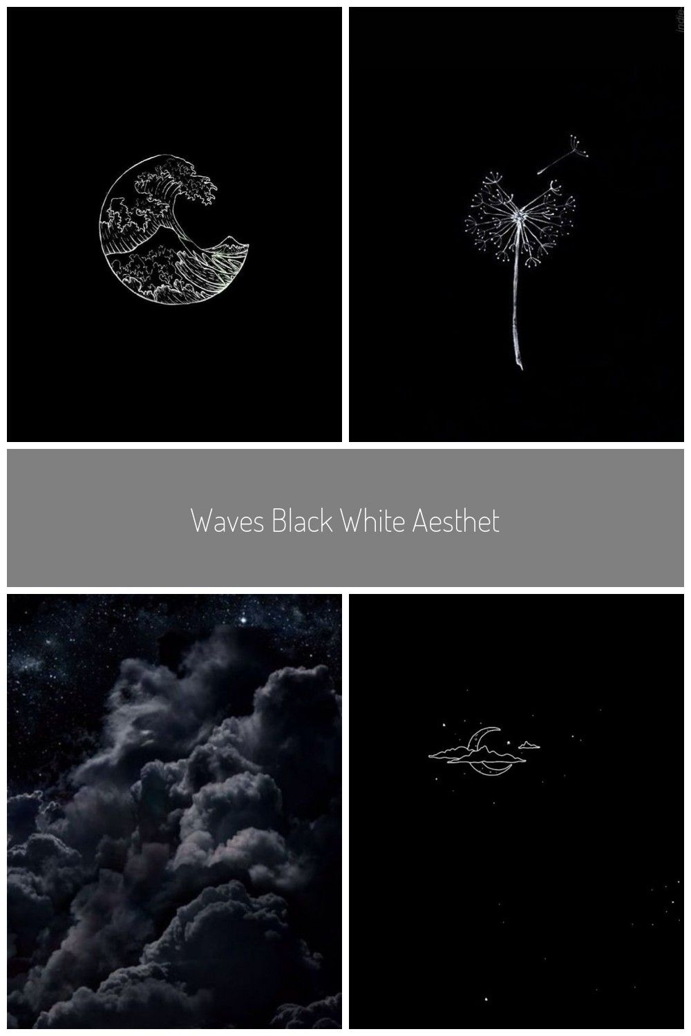 Waves Black White Aesthetic Tumblr Wallpaper Ae Ae Aesthetic Black Fondecra Grey Wallpaper Iphone Black And White Aesthetic Tumblr Iphone Wallpaper