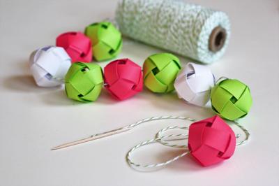 Blog My Little Party - Ideas e Inspiración para Fiestas: DIY: Guirnalda de Bolas