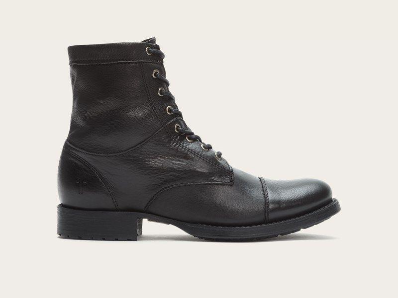 FRYE | Erin Lug Work Boot - Black