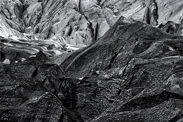 Photograph by Stuart Litoff.  #Details of #Svinafellsjokull #Glacier in #Iceland