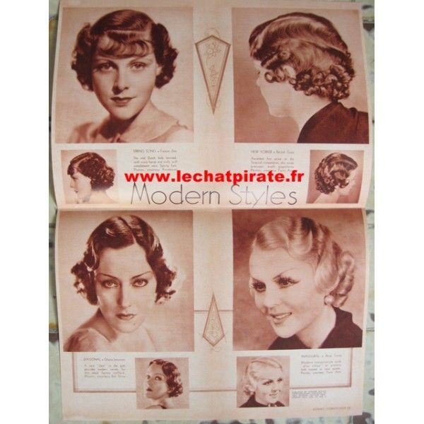 Photos Coiffure Annee 30 Homme Page 10 Coiffure 1900 2000