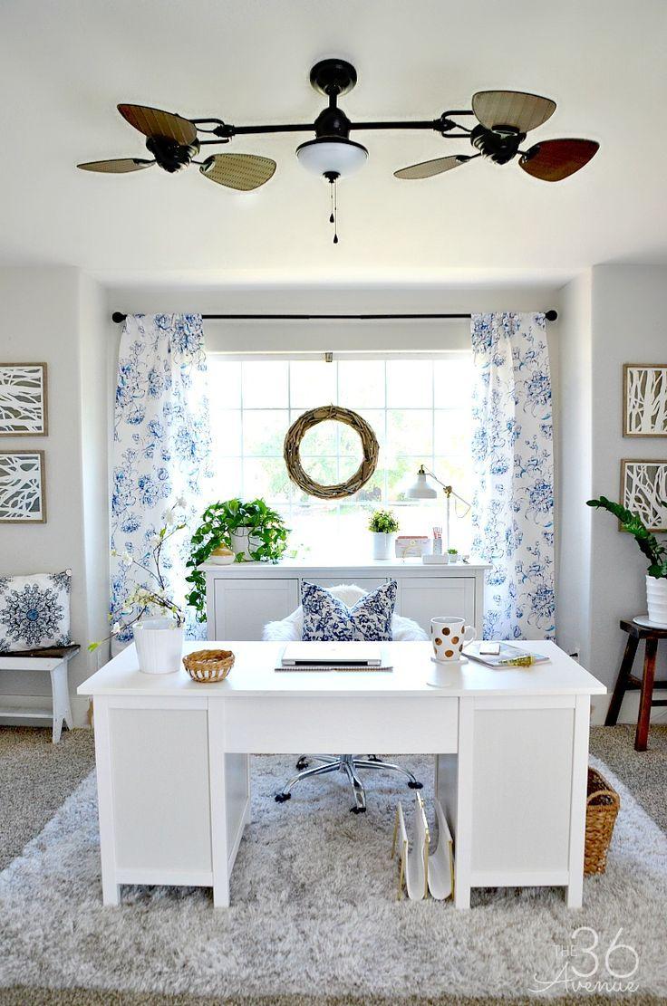 100 DIY Farmhouse Home Decor Ideas | Organizing, Office spaces and Room