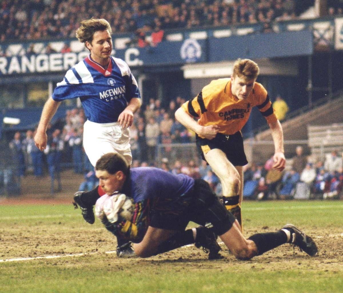 Ally Mccoist Vs Alloa 1994 Calciatori