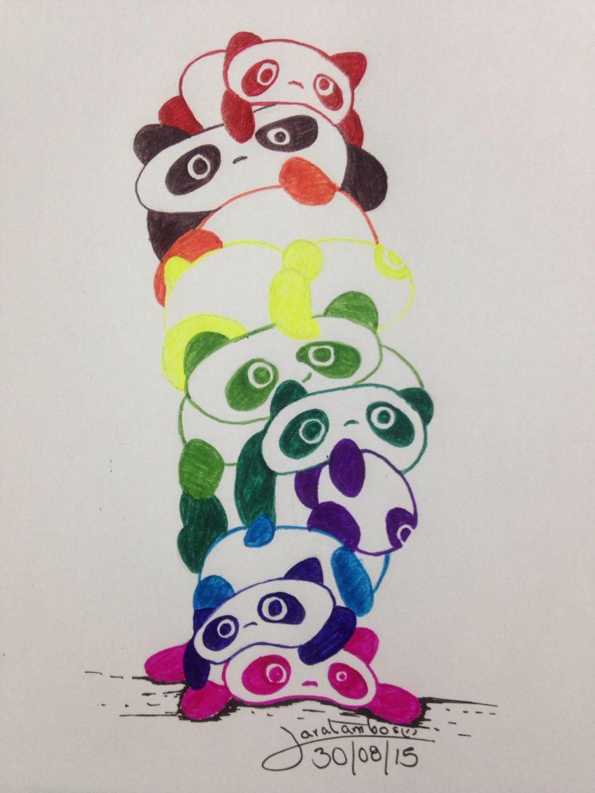 Pandas a color | artist | Pinterest