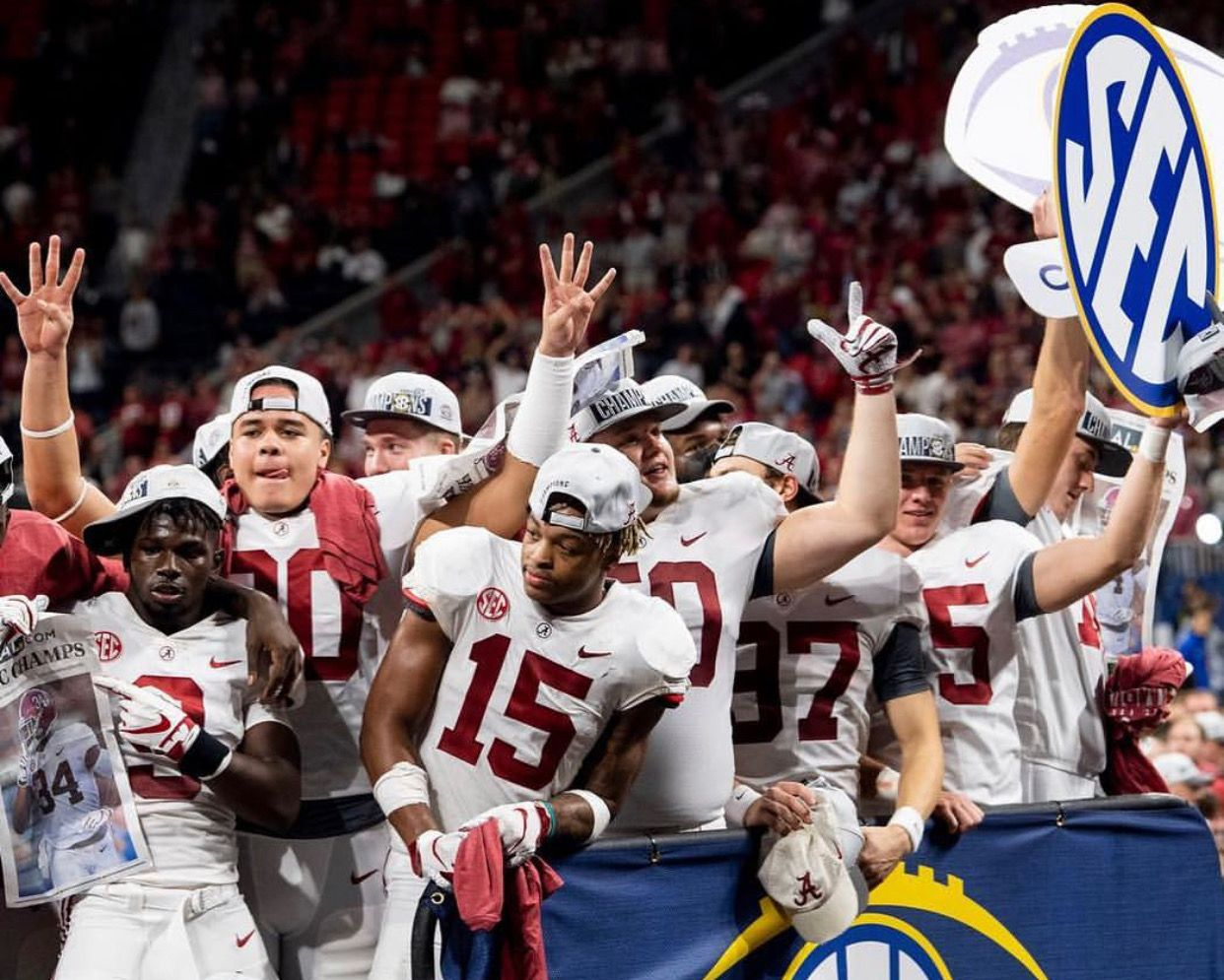 Alabama 35 28 in the 2018 SEC Championship game in