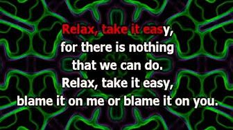 Mika Relax Take It Easy Lyrics Karaoke Youtube