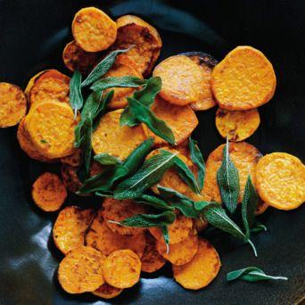 Chili-Lime Sweet Potato Chips recipe