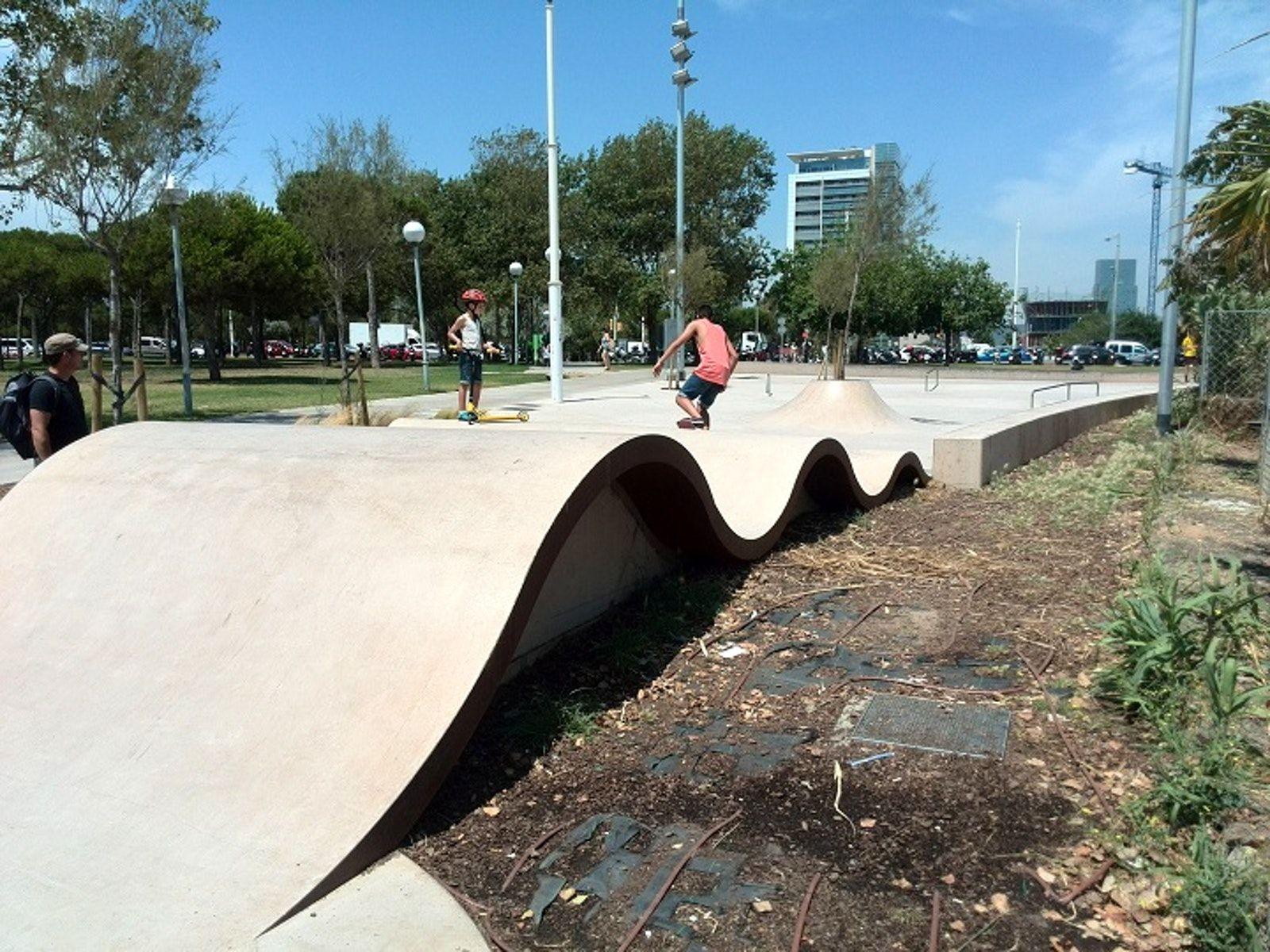 Marbella Skatepark Barcelona Is For Everyone Marbella Skate