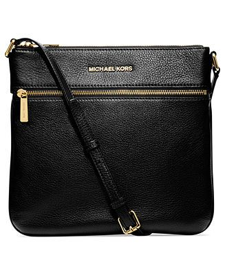 MICHAEL Michael Kors Bedford Flat Crossbody - MICHAEL Michael Kors - Handbags & Accessories - Macy's