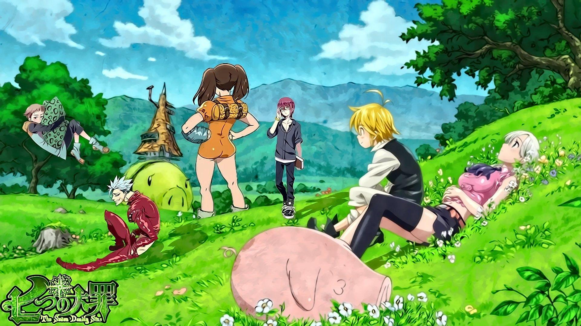 Seven Deadly Sins Wallpaper Google Search Hd Anime Wallpapers Anime Wallpaper Anime Download wallpaper anime nanatsu no