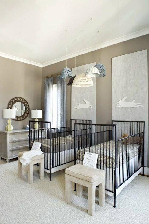 Elegant Baby Boy Nursery: Twin Nursery.. Poverty Elegant